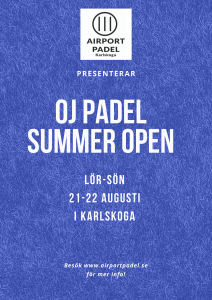 Summer open 21-22 augusti